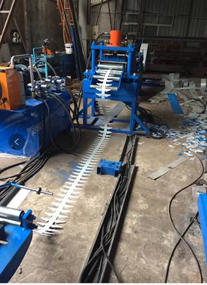 Rack Shelf Roll Forming Machine