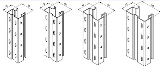 Storage rack shelf roll forming machine