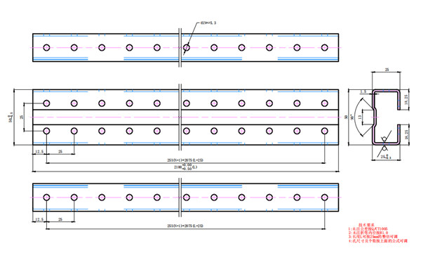 Tablero de baja tensión del canal C Máquina formadora de rollos