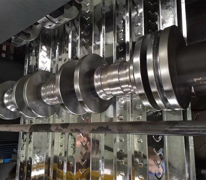 Máquina formadora de Placa de acero perfilada & placa de acero Equipo