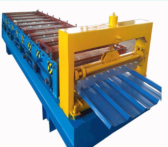 Panel de techo de chapa metálica Máquina formadora de rollos