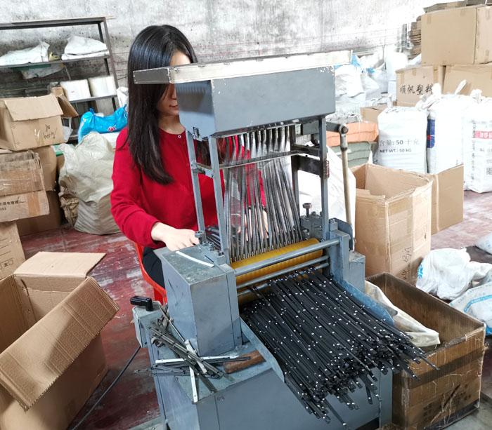 Deslice el carril que hace la máquina fabricante de China