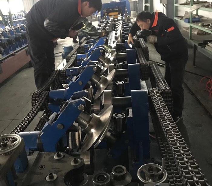 Máquina para fabricar canales de yeso Drywall C U Canal Máquina formadora de rollos